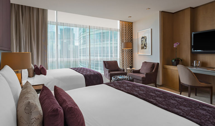 The sanctuary of your Deluxe Room