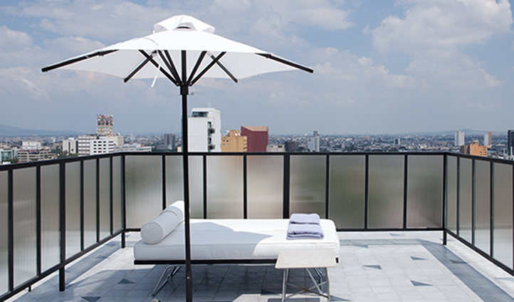 Rooftop relaxation at its finest