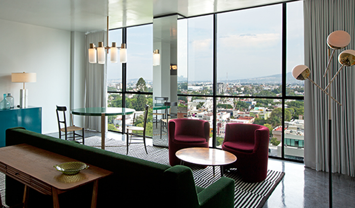 Sweeping views of Guadalajara from your Suite