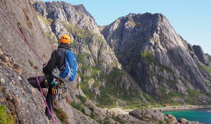 Nordskot offers a range of climbing options to suit all levels