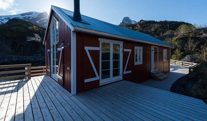 Your traditional fishing cabin
