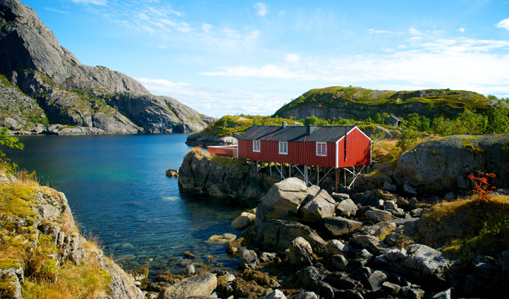 Your private fisherman's cabin at Nusfjord
