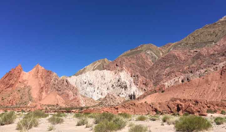 Drive through the stunning Salta landscapes