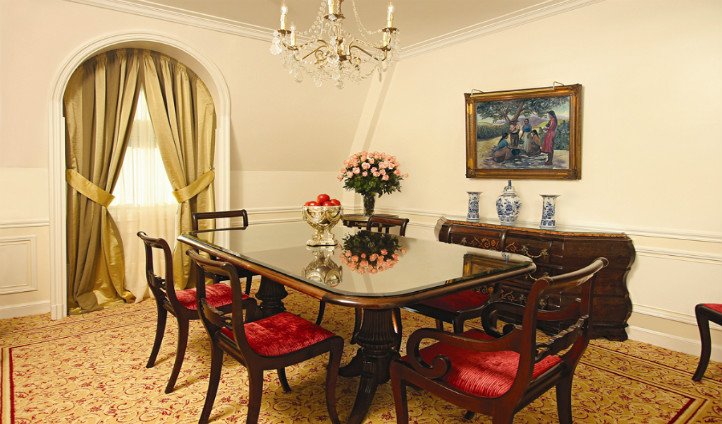 Your suite dining room