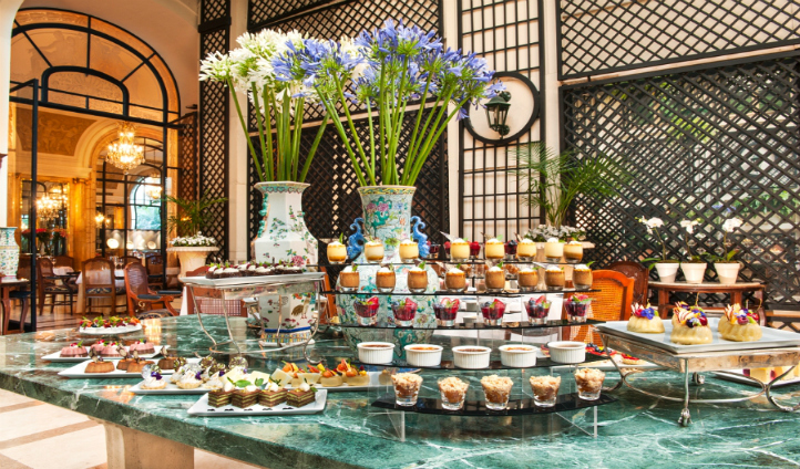 An array of desserts awaits you
