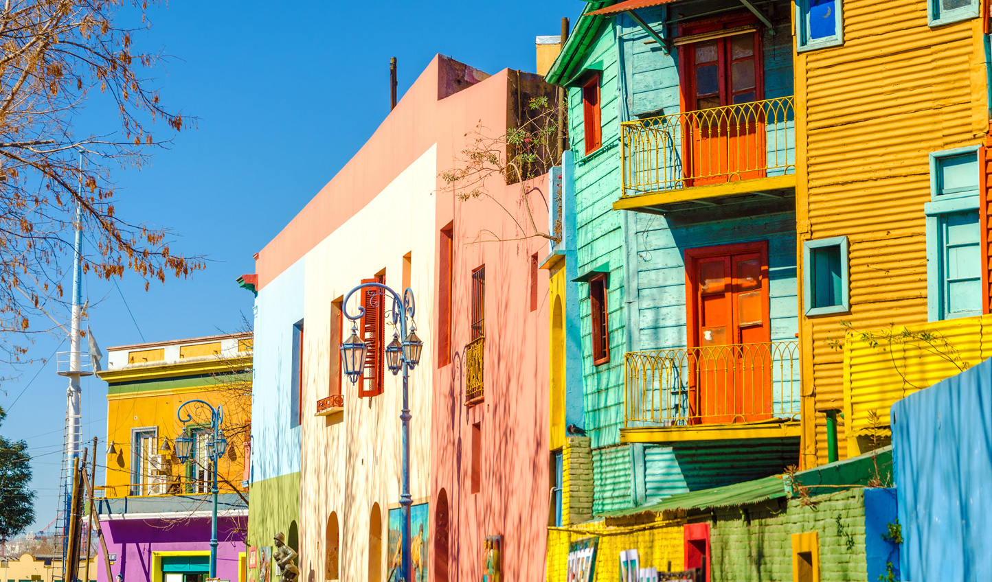 Visit the colourful street of El Caminito