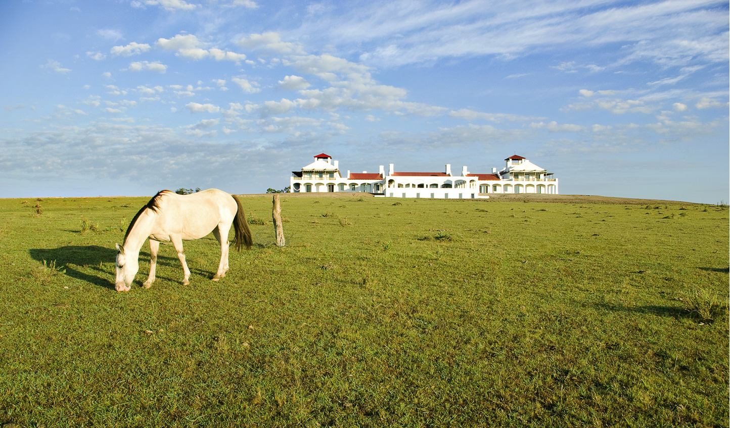 Move on to Uruguay and stay at Estancia Vik