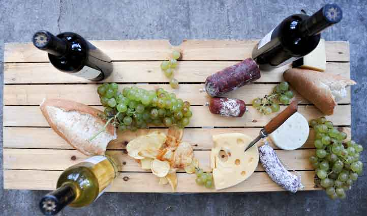 Food and wine delights