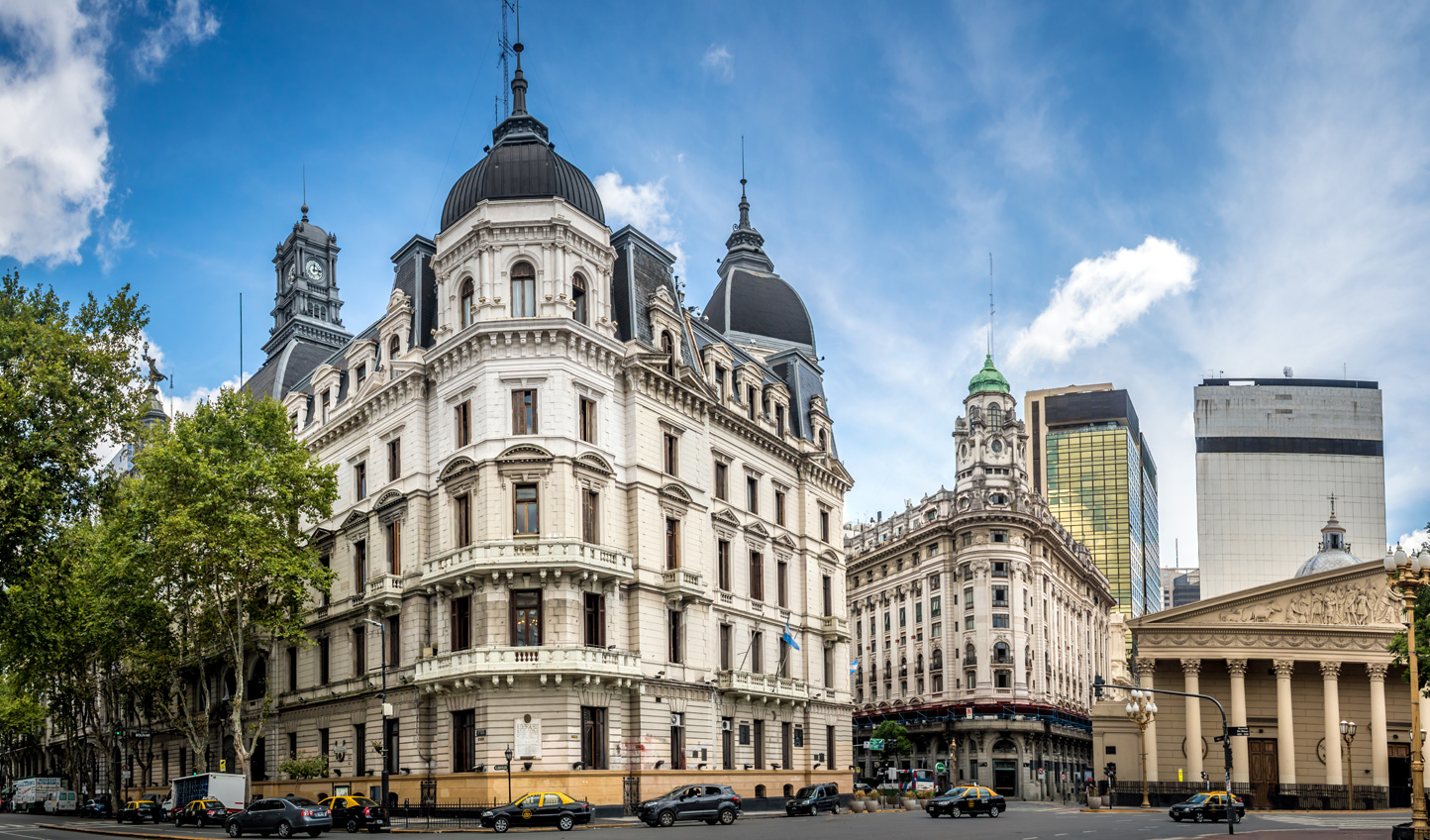 The European architecture in Buenos Aires makes it a unique Latin American city to visit