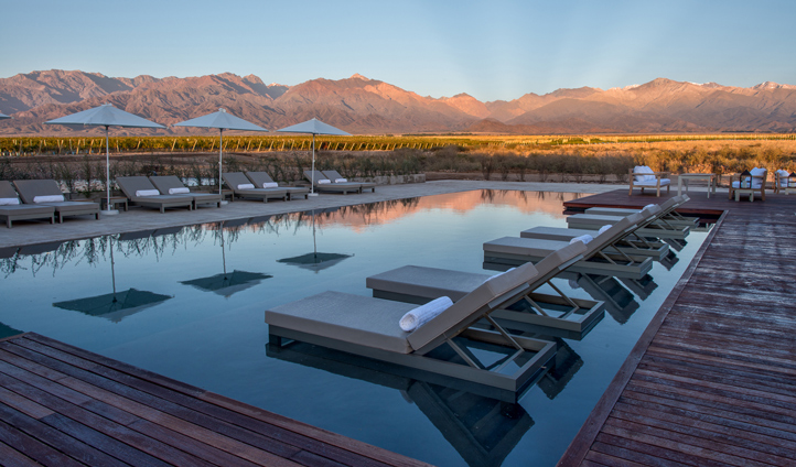 ...or by the infinity pool