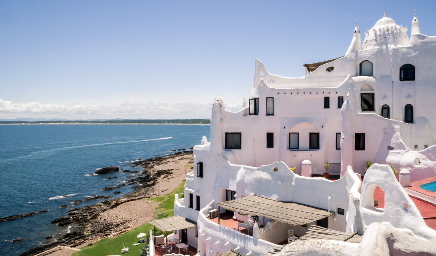 Visit the pretty Casapueblo, 'The Uruguayan Greece'