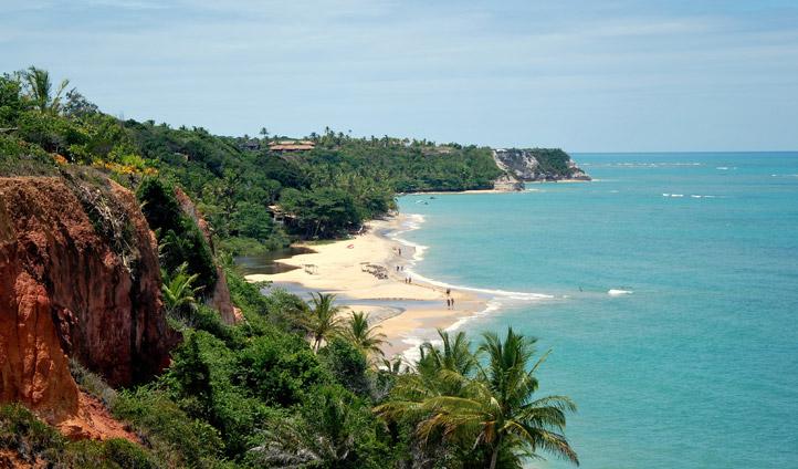 Beach in Bahia, Brazil