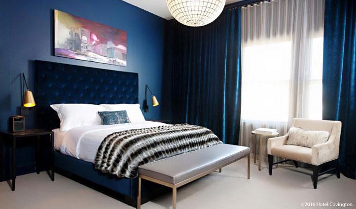 Sleek and stylish bedrooms