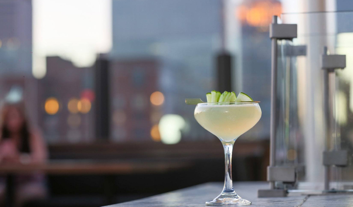 Drink and dine al fresco over Louisville's rooftops at 8UP