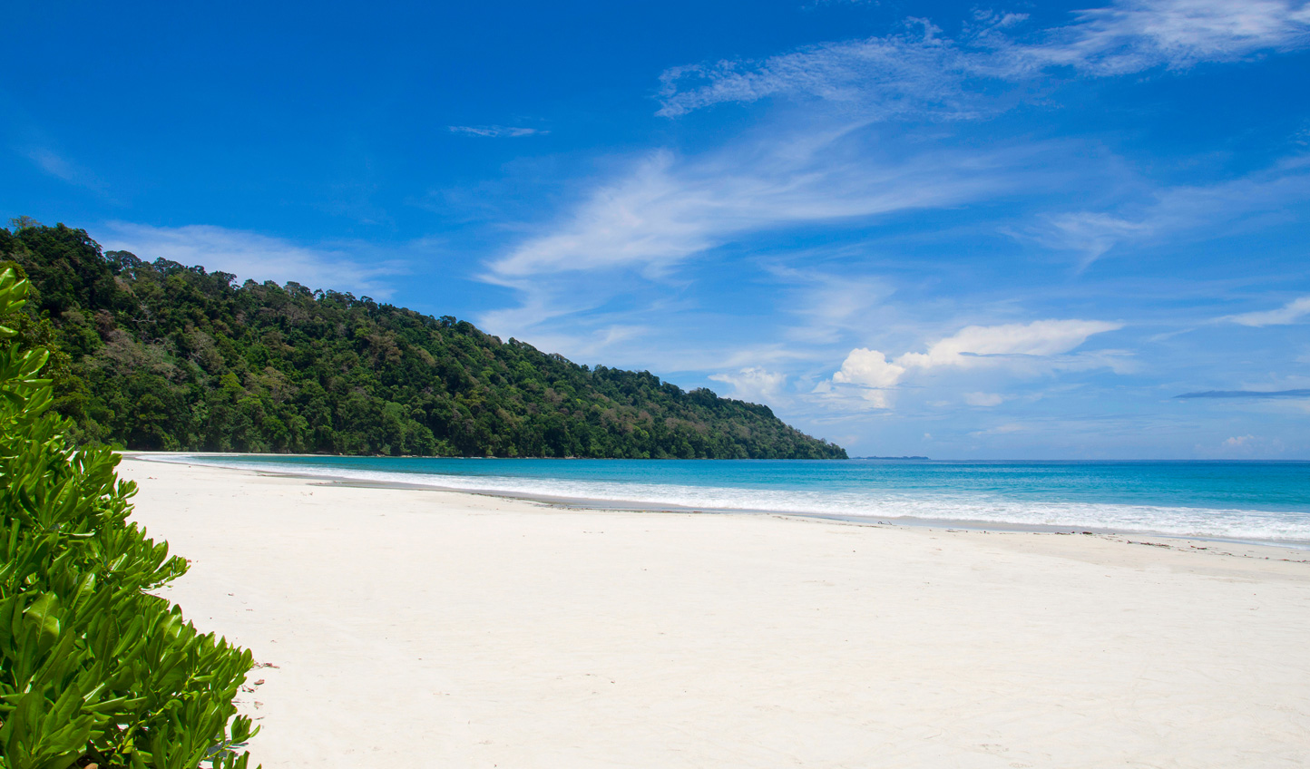 Stroll along the undiscovered beaches of the Andaman Islands