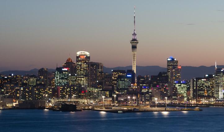 Urban earthly wanderings in Auckland