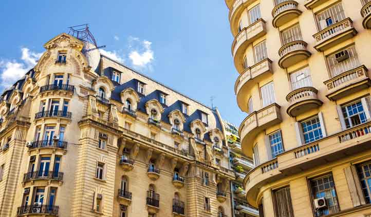 Take in the architecture of Buenos Aires