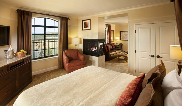 Your luxury suite awaits