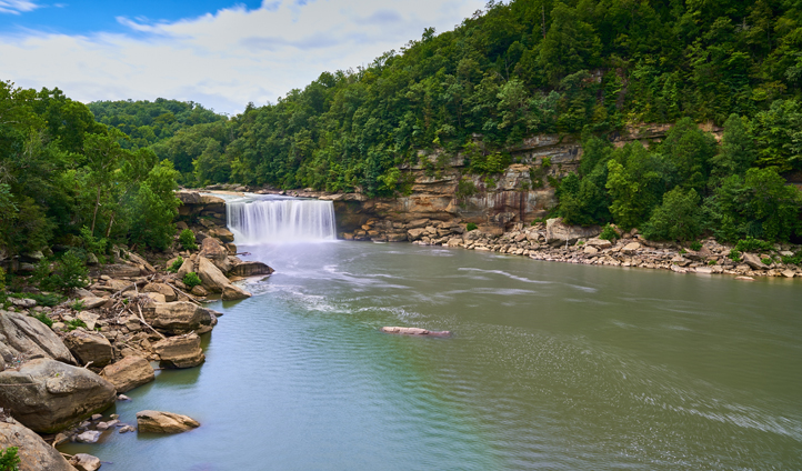 Kentucky's parks and trails are filled with forests and waterfalls to explore