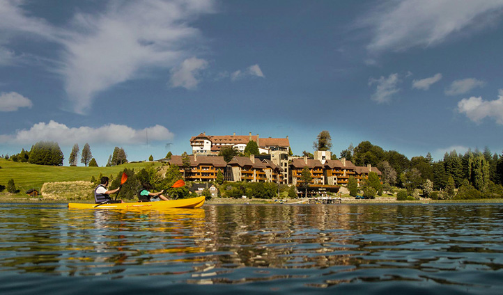 Spend the day kayaking at Llao Llao