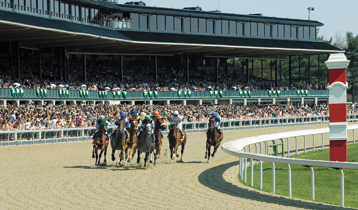 Try your luck at a Keeneland Race meet
