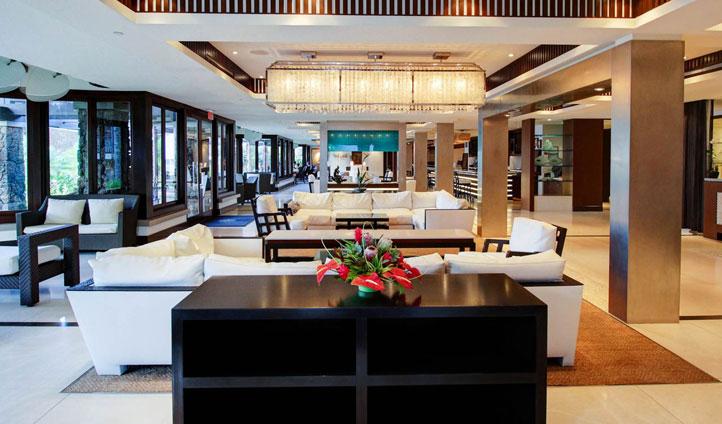 The lobby at Ko'a Kea, Kauai