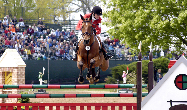 The Rolex jump events are a sight to behold