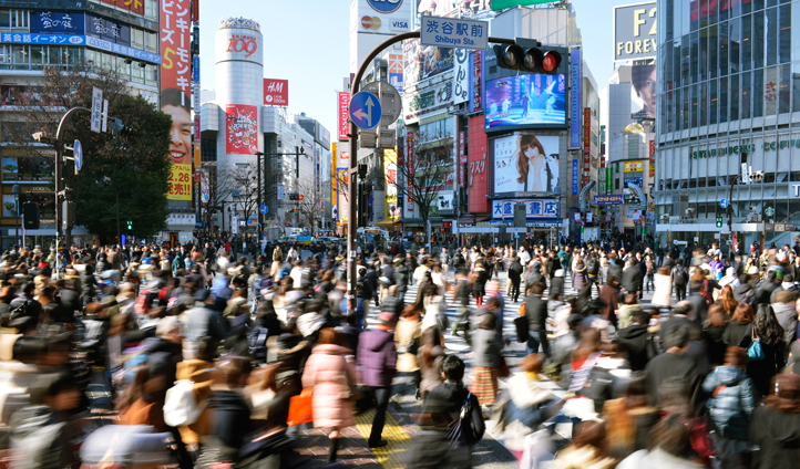 Shibuya crossing, Tokyo, Japan | Black Tomato