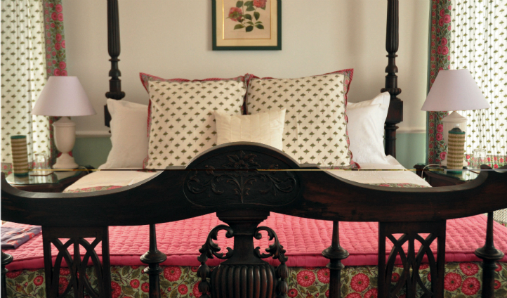 The Singalila Suite's Master Bed