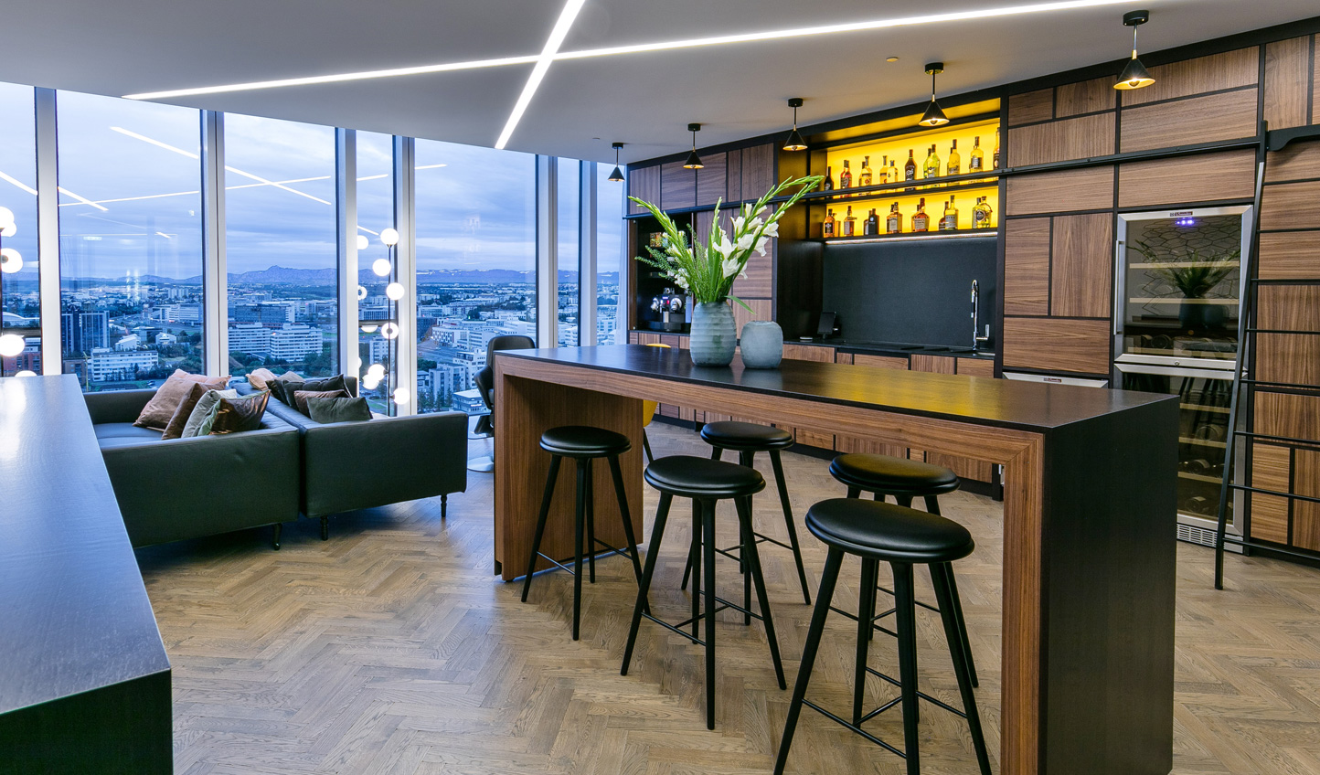 Unwind at the Sky Lounge
