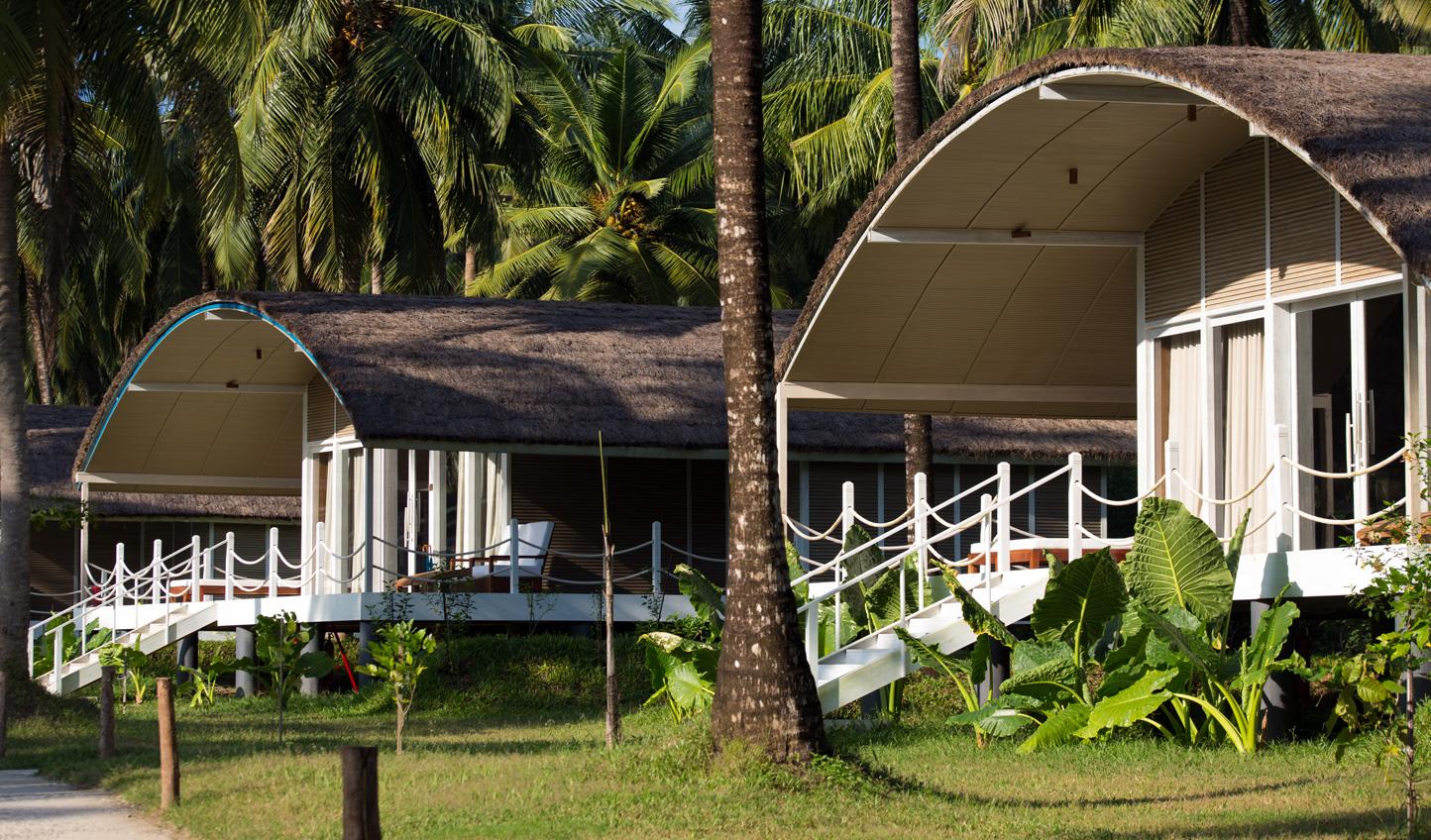 A tranquil getaway hidden by lush jungle