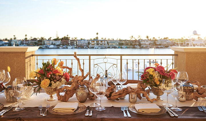 Enjoy a balcony overlooking the yachts below