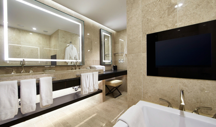 Simplistic but luxurious bathroom