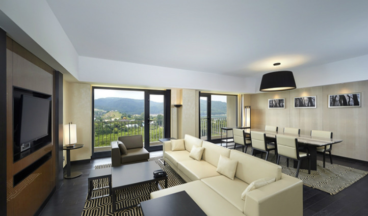 The Espero Suite living area is a perfect space to relax