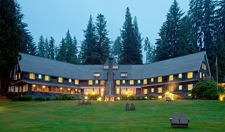 Lake Quinault Lodge, Washington State