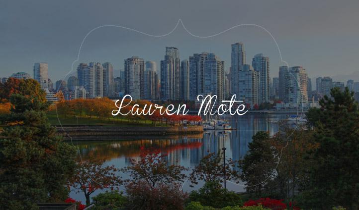 Lauren Mote, Canadian Mixologist