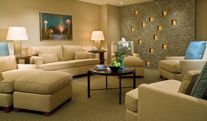 Cosy living areas will invite you in - image © Steve Sanacore