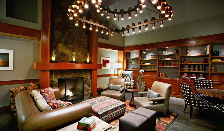 Cosy interiors are a welcome retreat after a day outdoors - Image © Salish Lodge & Spa