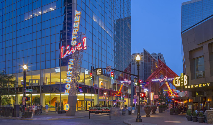 Discover Louisville's urban groove