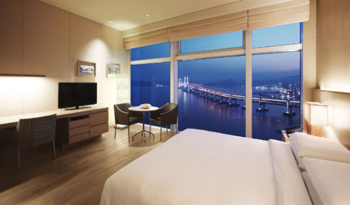 The Ocean View room