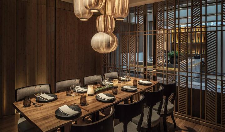 Enjoy private dining at Four Seasons' Kioku