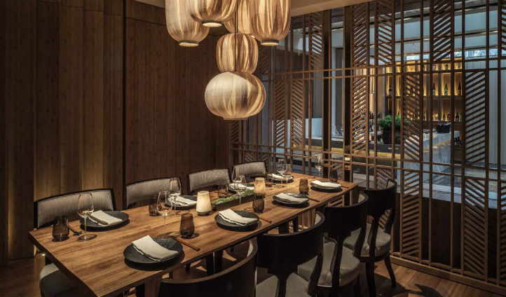Opt for a private dining experience here