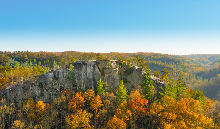 Rockclimb and scale the peaks of Red River Gorge