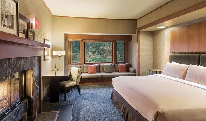 Classic, lodge-style accommodation - Image © Salish Lodge & Spa
