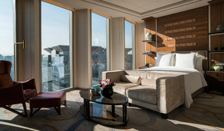 Sejong two bedroom suite is light and airy
