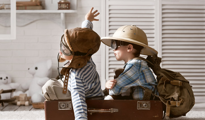 kids travelling