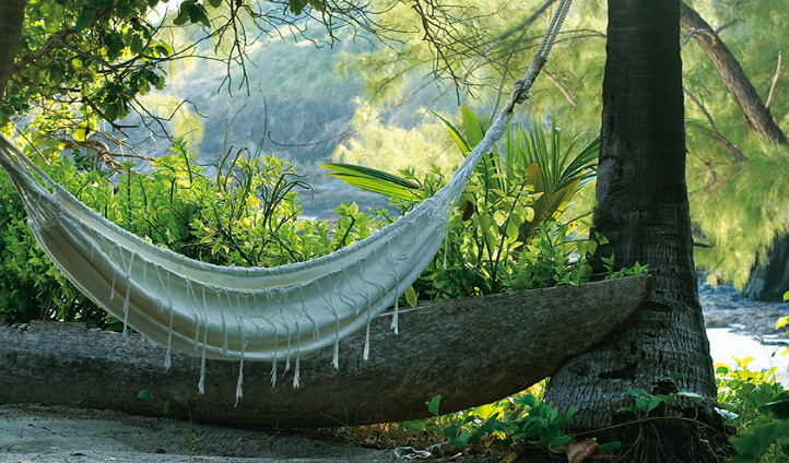 Find peace in a hammock