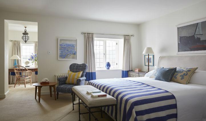 A large bedroom at Tresanton