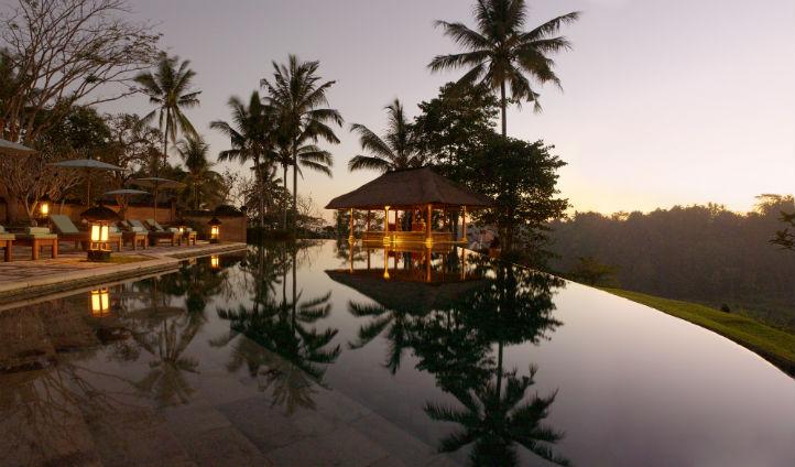 The Amandari swimming pool