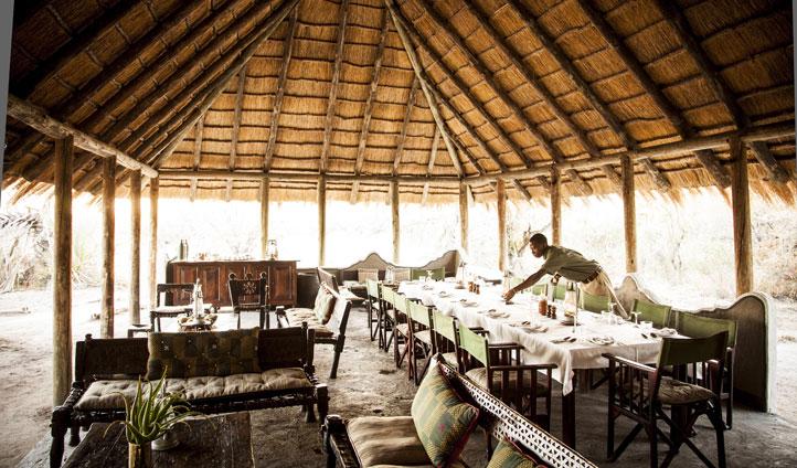 Dine al fresco in Botswana